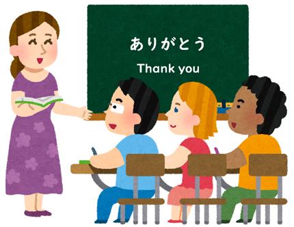 日本語を教えるK先生:イメージカット
